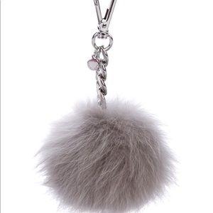 MICHAEL KORS Fur Pom-Pom Bag Charm